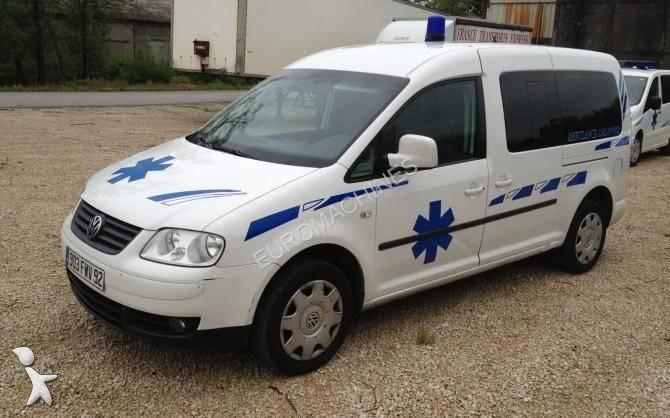 ambulance volkswagen caddy occasion n 922713. Black Bedroom Furniture Sets. Home Design Ideas