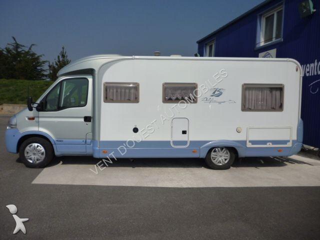 used renault master camper van ii burstner 686 delfin n 976190. Black Bedroom Furniture Sets. Home Design Ideas