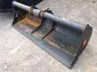 used Morin ditch cleaning bucket