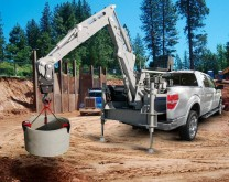 braço de escavação novo