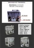 Secatol BENNE aluminium SECATOL - 2500 litresavec vidage assisté.