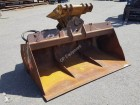 Zeppelin Used hydraulic pivoting ditch cleaning bucket