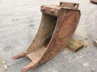 used Mecalac trencher bucket