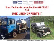 Mercedes 709 Plateau bouille RINCHEVAL 2000 Litres