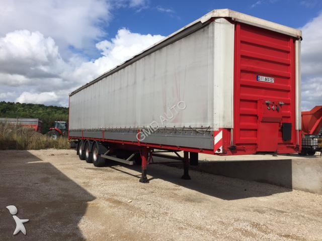 Semi remorque General trailers Tx34cw savoyard - 2000 - 4900.8€ TTC
