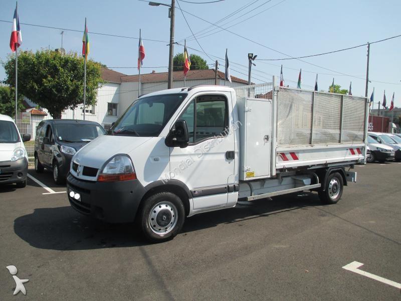 Utilitaire benne Renault Master Dci 100 - 2006 - 10590€ TTC