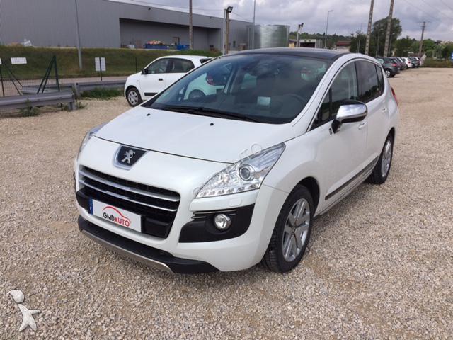 Voiture Peugeot 3008 Hybrid4 2.0 hdi 163ch fap bmp6 + electric 37ch - 2013 - 15990€ TTC