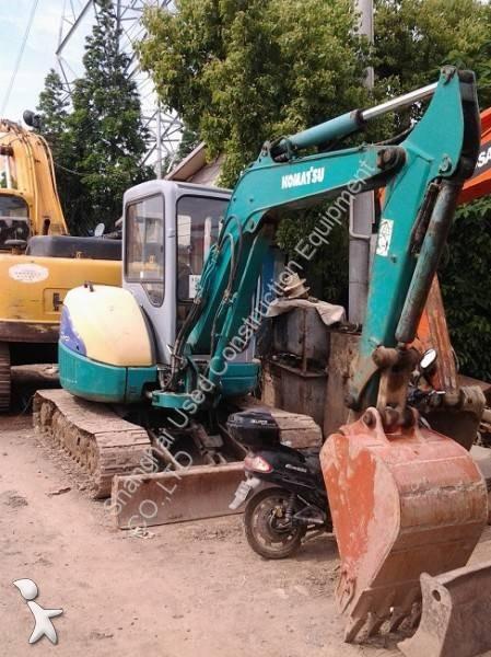 Excavator Komatsu PC40MR