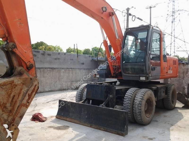 Hitachi ZX160WD excavator