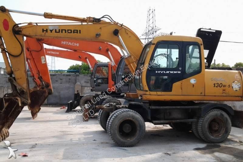 Hyundai R130W excavator