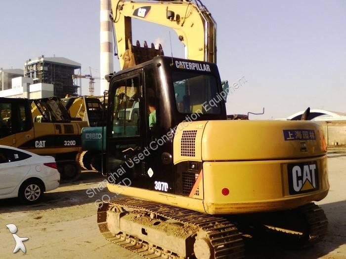View images Caterpillar 307D excavator
