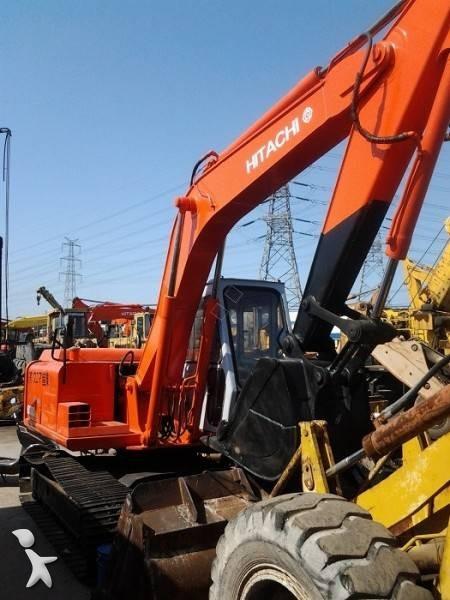 Vedeţi fotografiile Excavator Hitachi EX100