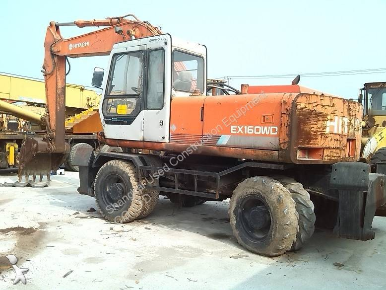 Hitachi EX160WD excavator