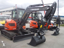 Eurocomach track excavator