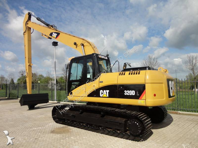 Used Caterpillar 320DL excavators