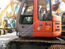 Hitachi ZX70LC Used HITACHI ZX75US Track Excavator