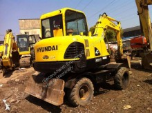 Hyundai Used HYUNDAI 60W-7 Mini Wheel Excavator
