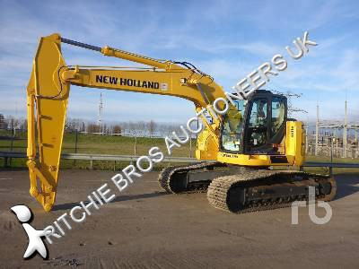 New Holland E260CSR excavator