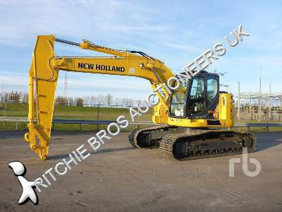 View images New Holland E230CSR excavator