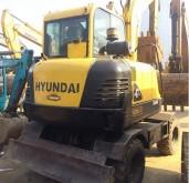escavadora sobre pneus Hyundai