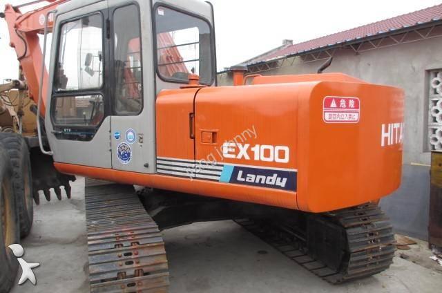 Track excavator Hitachi used