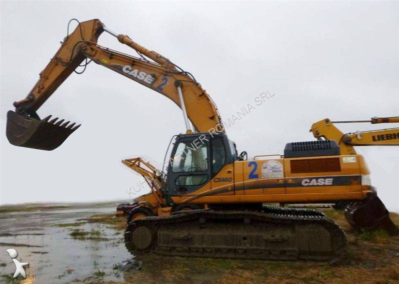 Used case cx460 track excavator n 1640722 for Fotografie case