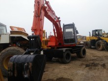 Hitachi wheel excavator