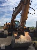 Poclain track excavator