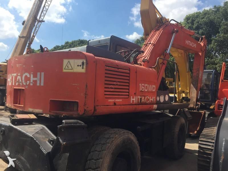 Hitachi EX160WD-1 excavator