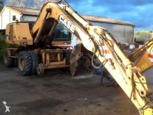 excavadora de ruedas Case