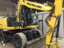 New Holland wheel excavator