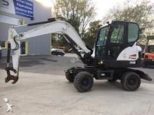 Bobcat wheel excavator
