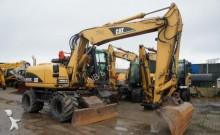 Caterpillar wheel excavator