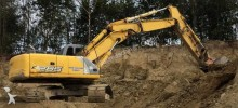 New Holland E265 ELT excavator on tracks / Kettenbagger