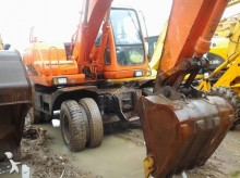 Doosan wheel excavator