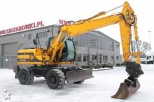 JCB JS145 WHEEL EXCAVATOR 16 ton JS 145 TRIPLE BEND BOOM STABS