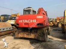 excavadora de ruedas Hitachi