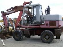 Poclain wheel excavator