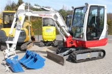 Takeuchi TB 228 + Powertilt + GS + 3x TL - 2.885 kg - TOP