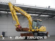 Komatsu PW160 ES-7K Wheel Excavator 4X4 Powertilt Rotato