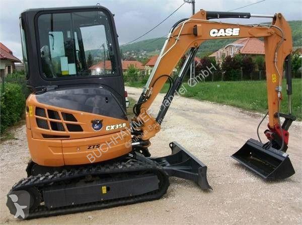 used case mini excavator cx 35b zts n 2027827. Black Bedroom Furniture Sets. Home Design Ideas