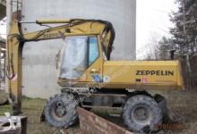 Zeppelin wheel excavator