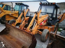 Case industrial excavator