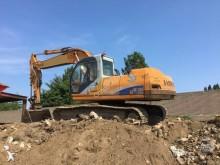 Samsung track excavator