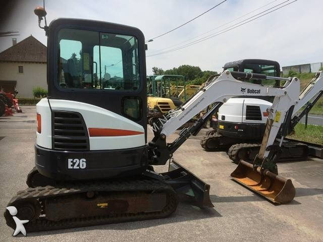 mini pelle bobcat e 26 e 26 occasion