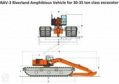 Caterpillar RAV - 3 30-35 ton excavaor