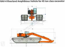 Caterpillar RAV - 4 45 ton excavator