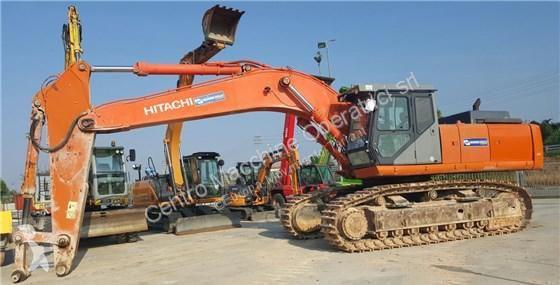 View images Hitachi ZX500 excavator