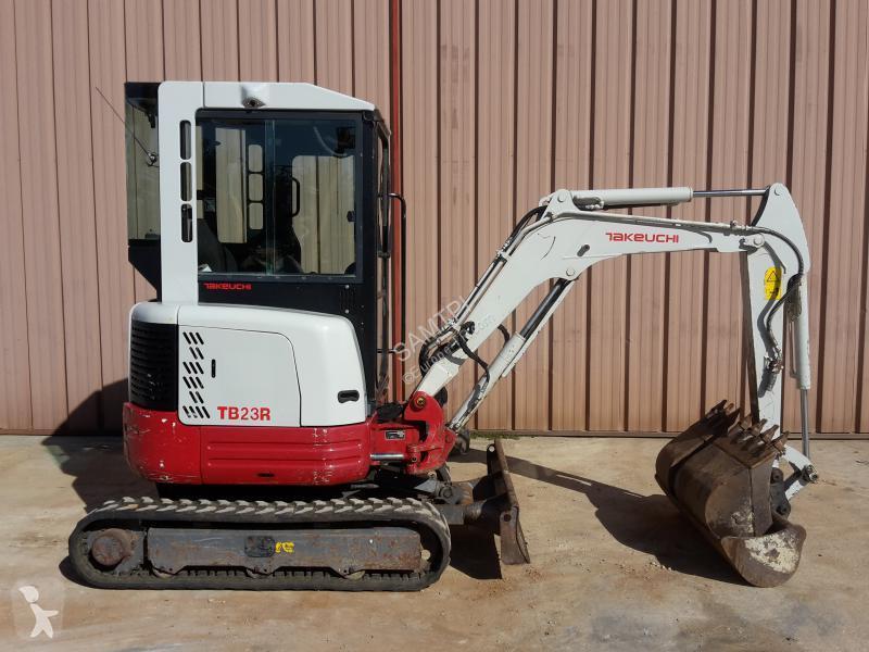 Takeuchi TB23R excavator