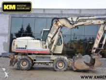 excavator pe roti Liebherr